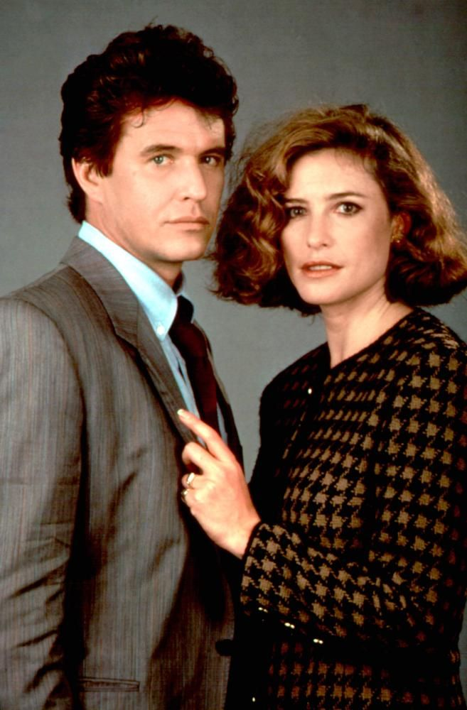 "Tom Berenger and Mimi Rogers in ""Someone to Watch Over Me"", 1987 (Columbia)"