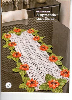 Crochet and embroidery: towels - meer voorbeelden