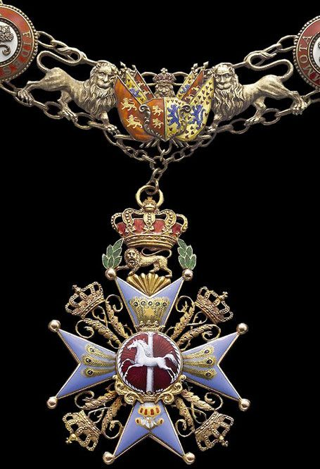 Brunswick German State House Order of Henry the Lion Collar.
