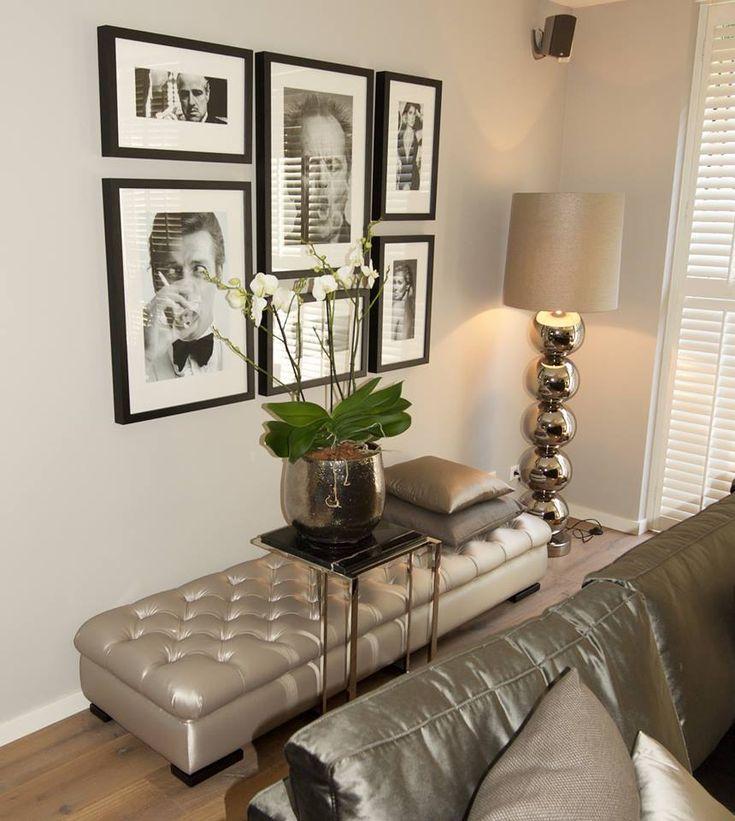 25 beste idee n over woonkamer schilderijen op pinterest woonkamer decoraties een kamer - Idee schilderij living ...
