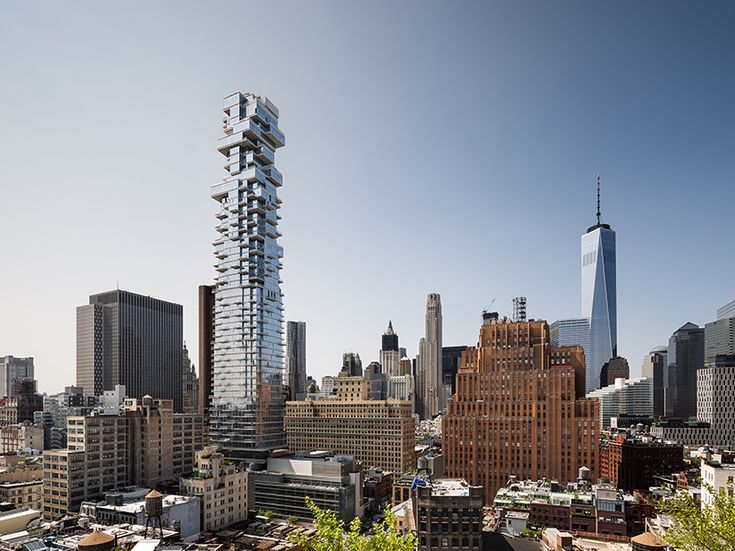 the first interior photographs of the 60-story tribeca skyscraper have been revealed, illustrating its extensive range of exclusive amenities.