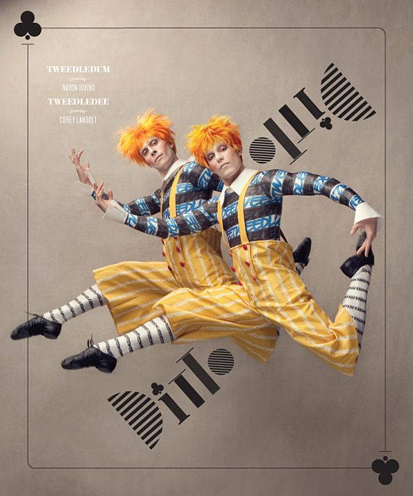 Alice In Wonderland - The Washington Ballet World Premiere. I Love all the promo imgs/design! Wish I could go see it.