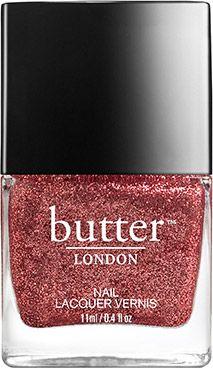 My new favourite nail polish! So OTT! Glitter Nail Polish – Be one of the Glitterati : butter LONDON