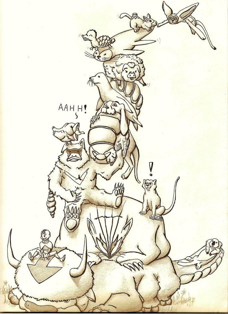 Avatar Animals Fan Art