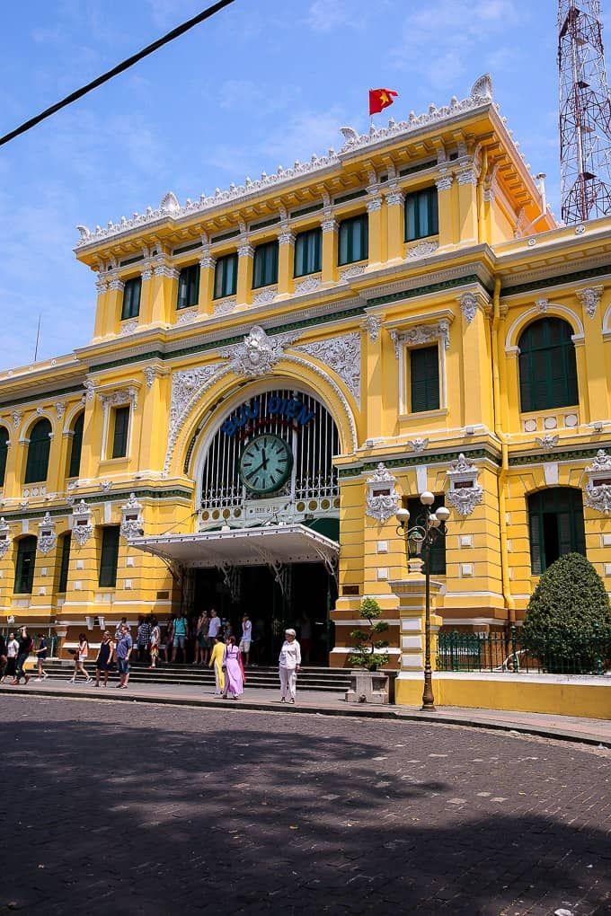 Saigon Central Post Office Ho Chi Minh City Vietnam Ho Chi Minh City Vietnam Saigon