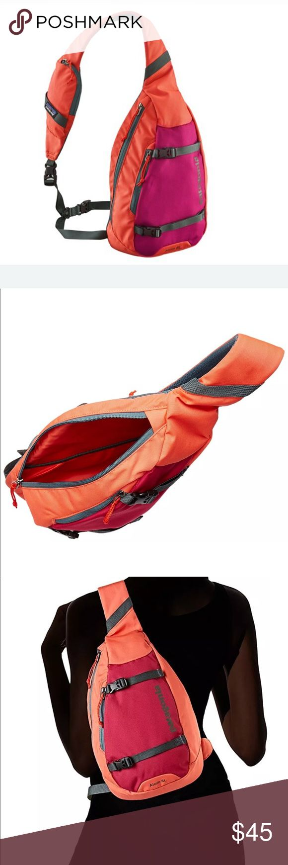 PATAGONIA 8L ATOM SLING BAG CORAL - BRAND NEW! Brand Mew With Tags and No Flaws! From a smoke and pet free home.  Ships Fast! Patagonia Bags Shoulder Bags