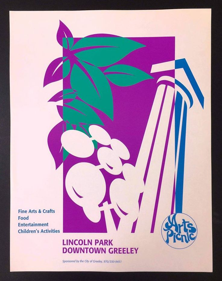 #TBT Arts Picnic poster! What year do you think we used this one?