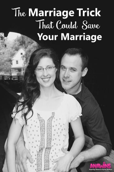 The one marriage trick that could save your marriage. Are you struggling in your marriage today? There is hope.