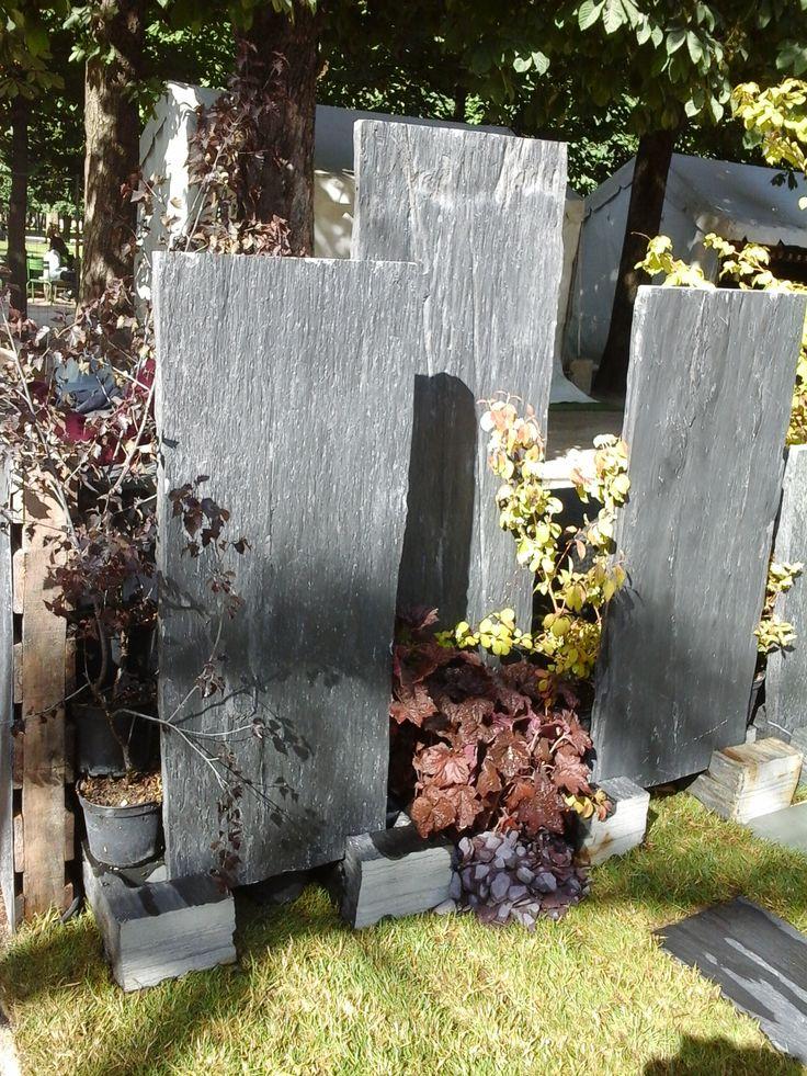 Palis d 39 ardoise infercoa sur le jardin part de cupa for Ardoise pour jardin