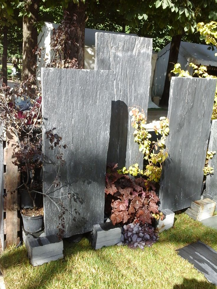 palis d 39 ardoise infercoa sur le jardin part de cupa stone jardins jardin aux tuileries. Black Bedroom Furniture Sets. Home Design Ideas