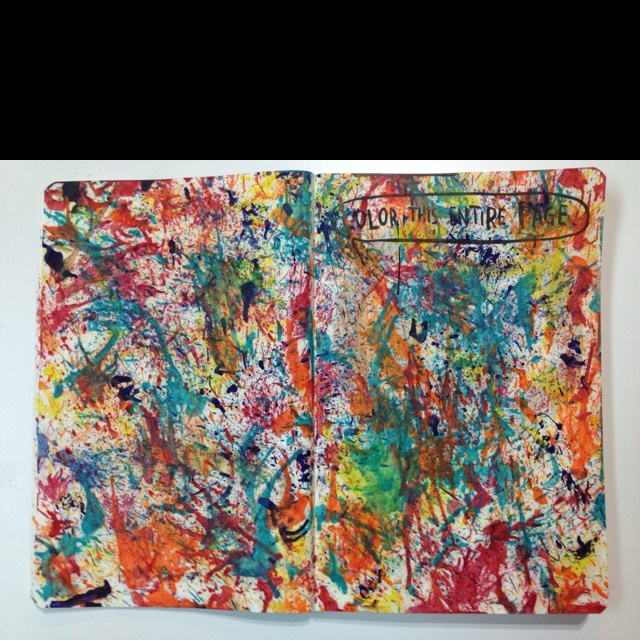 Color Journal Ideas : 265 best wreck this journal images on pinterest