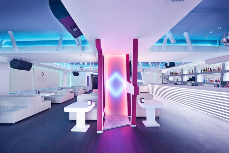 Futuristic Design: Krysha Cafe by Grosu Art Studio | http://www.designrulz.com/design/2014/07/futuristic-design-krysha-cafe-by-grosu-art-studio/