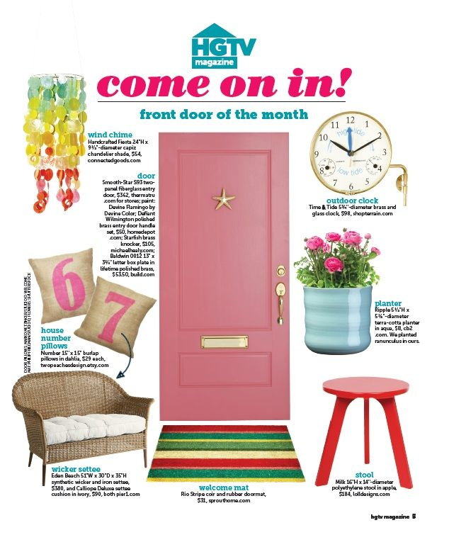hgtv magazine 2014 furniture. Therma-Tru Door Featured As HGTV Magazine\u0027s \ Hgtv Magazine 2014 Furniture I
