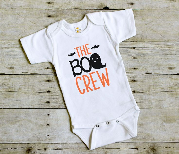 Halloween Outfit for Babies - Halloween Baby Bodysuit - Infant Halloween Outfit - Baby Girl Halloween - Baby Boy Halloween - The Boo Crew by PineapplePancakeKids on Etsy