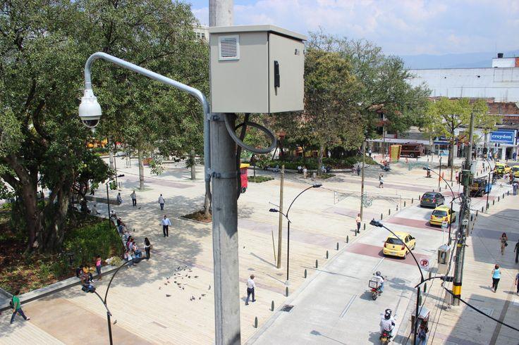 Lo que pasa en cada rincón de nuestro municipio , trasmitido en tiempo real, a la central de monitoreo.