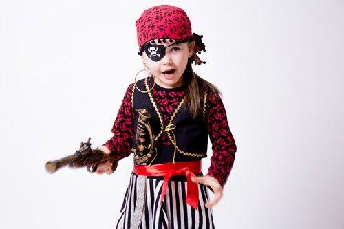 Fasching Pirat (Kinderweste)