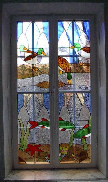 Made by blyglas.com Ernst Billgren. Stained  glass. Blyfönsterspecialisten…