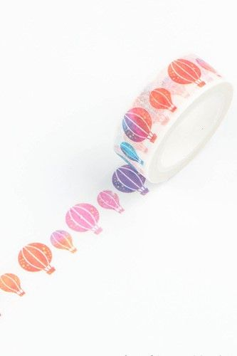 Water Color Balloon Washi Tape