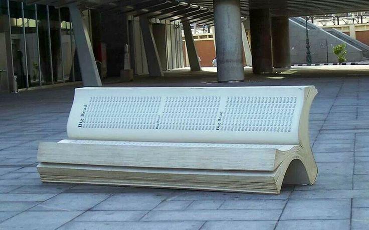 ... in blocco di cemento, Panca per terrazza e Panchine per terrazza