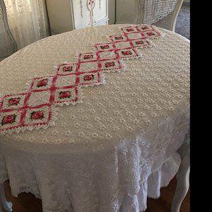 Large lace area boho crochet rug CHAMOMILE 61 in. Baby Carpet – Round circle floor lace living room carpet. Wedding Gift Birthday Boho Carpet Gift  – Ganchillo