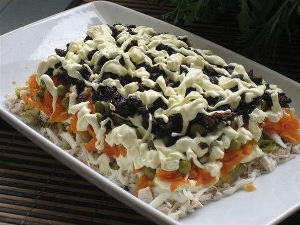 Рецепт этого салата будут выпрашивать все гости — Очень вкусный! | Самые вкусные кулинарные рецепты