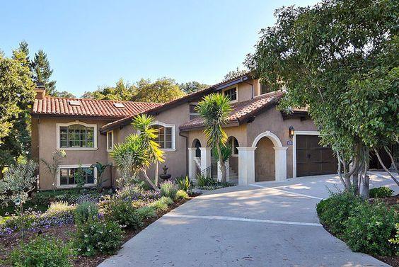 33 best colors images on pinterest exterior homes my - Stucco exterior paint color schemes ...