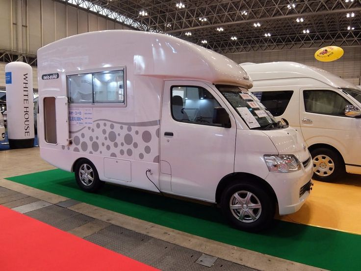 Based on a Toyota LiteAce van, the neo-Euro is available in 4-wheel-drive and sleeps 5