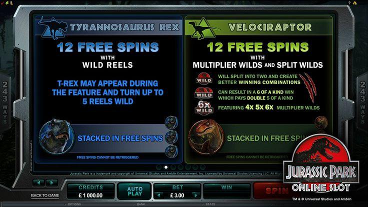 Jurassic Park™ Slot game