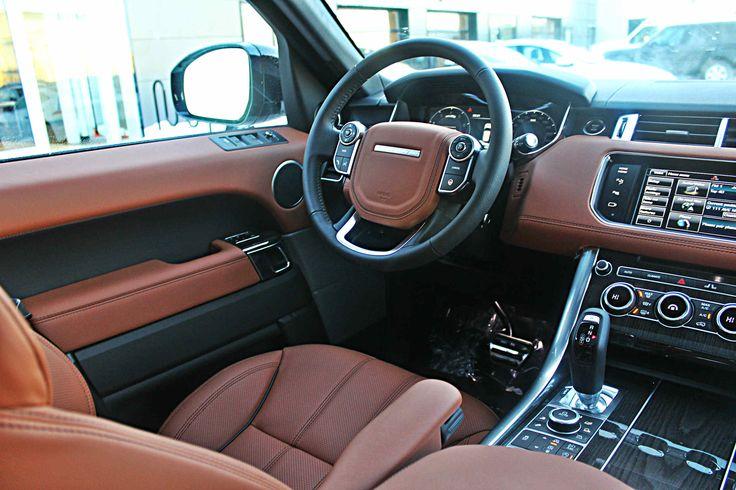 2015 White Range Rover Tan Interior Land Rover