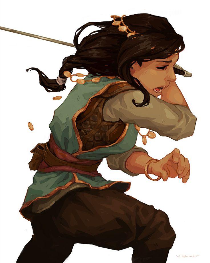 Character Design Style Emulation 1/3, Vanessa Palmer on ArtStation at https://www.artstation.com/artwork/Gd0z1
