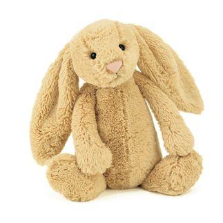 Jellycat bamse Bashful kanin - 31 cm.–Lirumlarumleg.dk