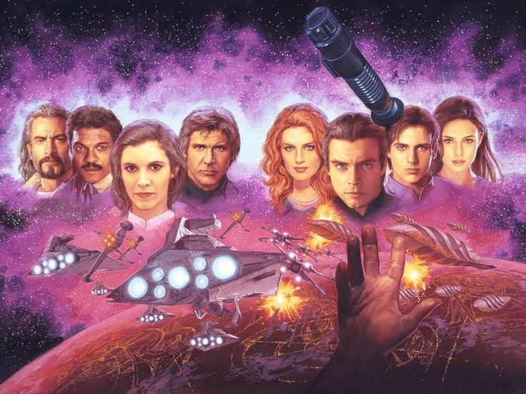 The Star Wars Expanded Universe Cover Illustrations by Tsuyoshi Nagano