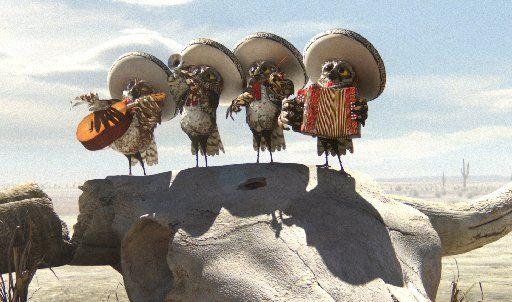 Owls ranchers :D - RANGO MOVIE