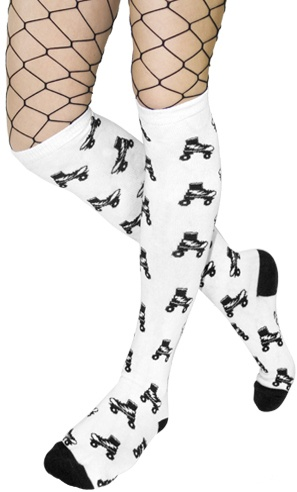 Roller Skate knee socks