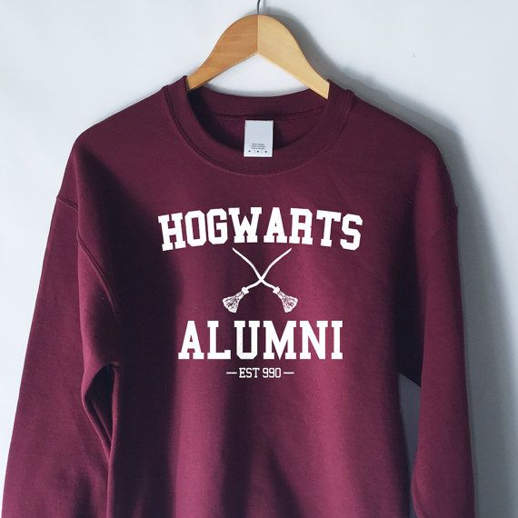 Harry Potter Sweater Harry Potter Hoodie Harry Potter Gift Harry Potter Print Jumper Harry Potter Shirt Birthday Gift