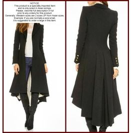 Asian Import Gothic Steampunk Women Coat (Read Entire Descr. B4 Ordering!)