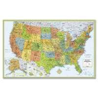 Another great product: Rand McNally M-Series Deluxe Wall Maps M-Series Full-Color Laminated United States Wall Map, 50 x 32-AVT-RM528960911Price: $12.99Read More and Buy it here!   http://ponderosa.co/t1002/rand-mcnally-m-series-deluxe-wall-maps-2/