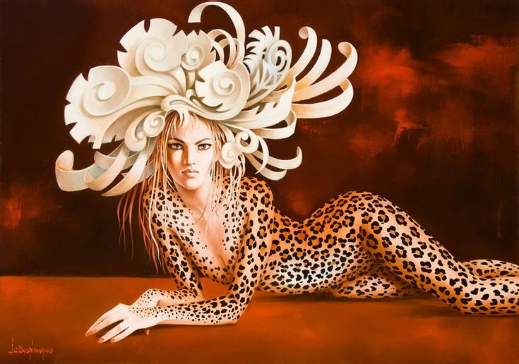 20 Beautiful oil paintings by Jean Claude - Harmony, Relaxation and Fantasy. Follow us www.pinterest.com/webneel