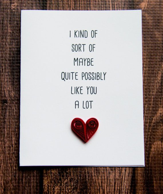 A Cute Valentines Day Card Love Card To Show Your Partner How Much