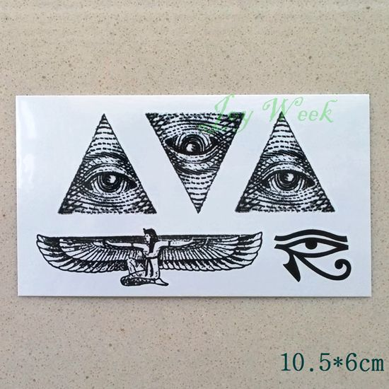 Waterproof Temporary Tattoo sticker ancient greece all seeing eye of God totem tattoo Water Transfer fake tattoo flash tattoo #>=#>=#>=#>=#> Click on the pin to check out discount price, color, size, shipping, etc. Save and like it!