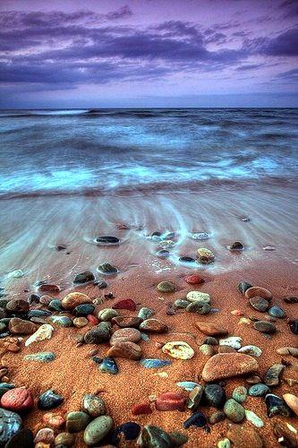 #beach #tide #shells #sea_shell: Beaches, Nature, Beautiful, Ocean, Rock, Place, Photo