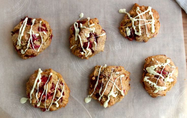 Gluten-Free Raspberry Scones - Powered by @ultimaterecipe
