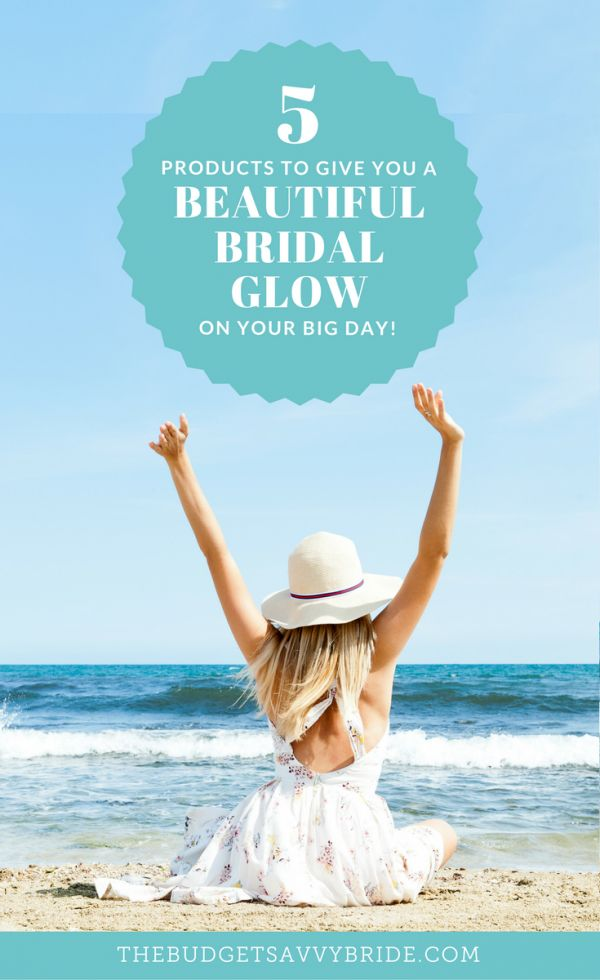 5 Products to Give You A Beautiful Bridal Glow on Your Big Day https://thebudgetsavvybride.com/bridal-glow-wedding-beauty-products/?utm_campaign=coschedule&utm_source=pinterest&utm_medium=The%20Budget%20Savvy%20Bride&utm_content=5%20Products%20to%20Give%20You%20A%20Beautiful%20Bridal%20Glow%20on%20Your%20Big%20Day