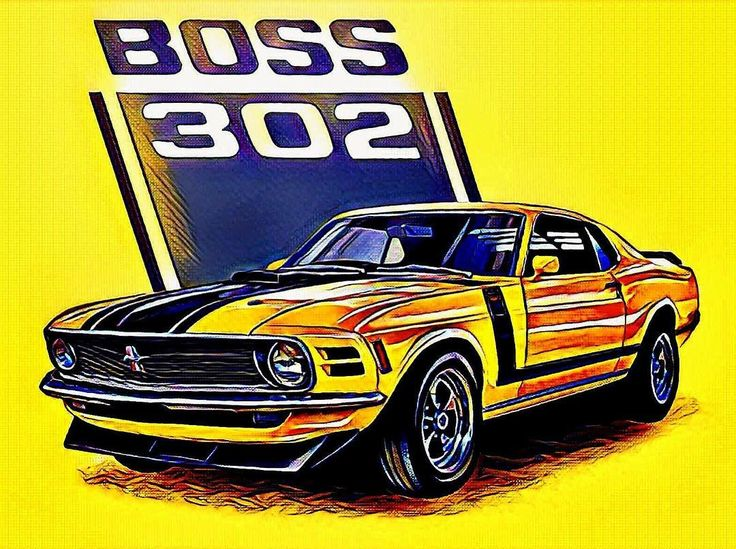 The 1969 Ford Boss 302 Mustang. Small block 302, 290HP & 290 lbft of torque. Oh yeah baby!    #TBT #ThrowbackThursday #ClassicMustang #JimVreelandFord
