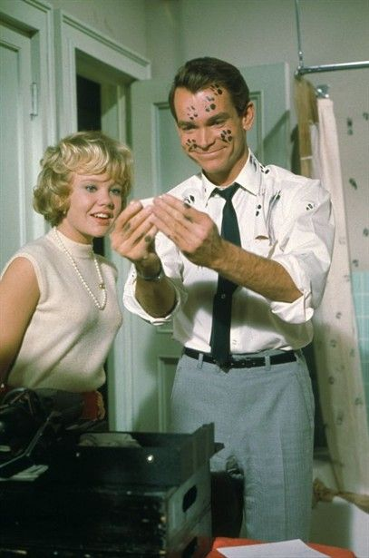Haley Mills and Dean Jones - 'That Darn Cat!' (Disney, 1965). used to be my favorite movie