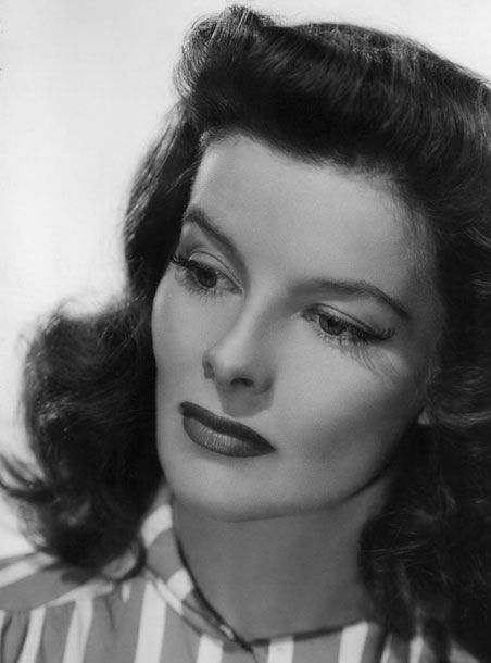 Katherine Hepburn ~ love this woman one of the first on screen tomboys that still managed to look beautiful.