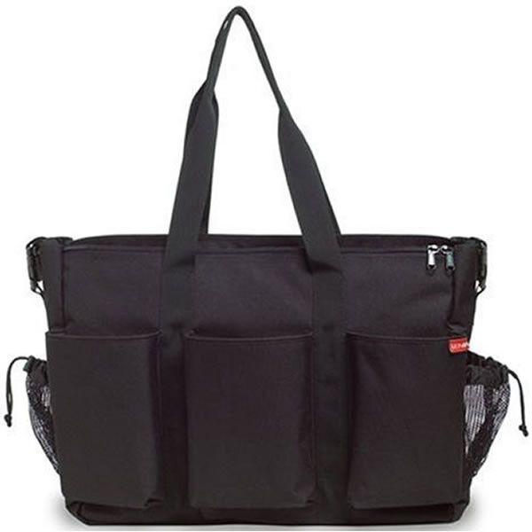 Skip Hop Duo Double Deluxe Diaper Bag, Black