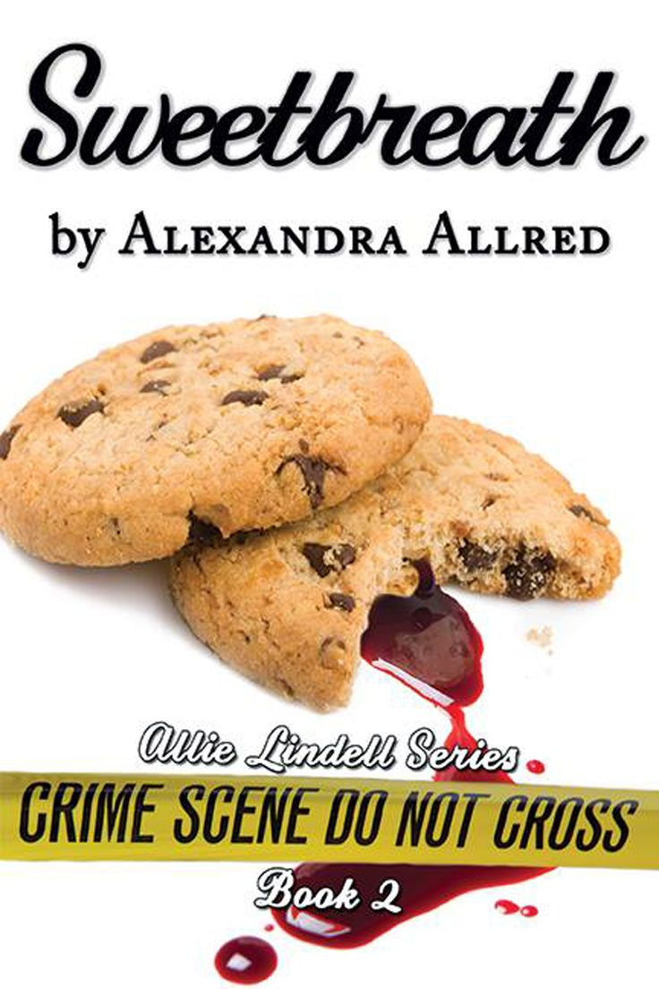 The second installment of the Allie Lindell series, Sweetbreath, follows the wonderful smell of cookies and clues as Allie investigates the death of the president of Sweet Sullivan. Is it a simple suicide or much, much more?