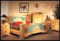 southwestern bedroom | Any furniture style can be coordinated for an entire bedroom set.