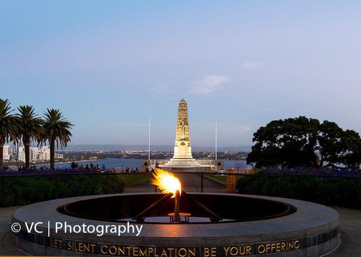 The Eternal Flames@War Memorial King's Park Perth